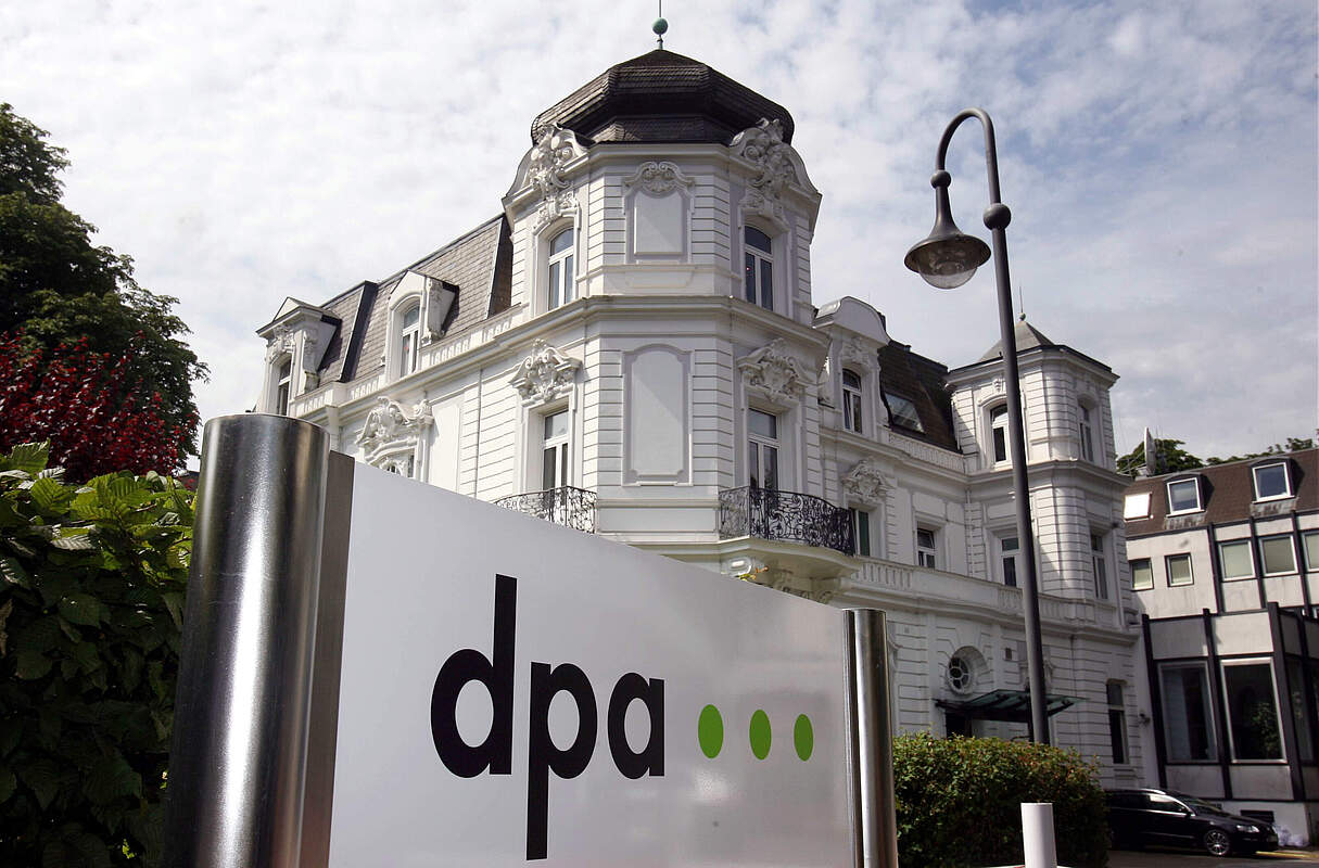 dpa in Hamburg