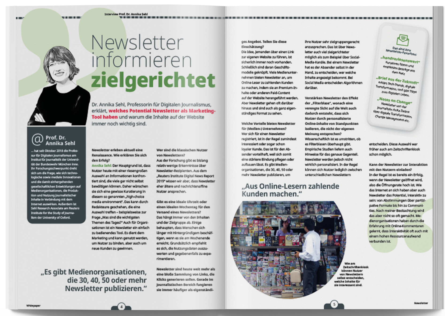 Whitepaper Newsletter Interview Annika Sehl